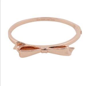 KATE SPADE Love Notes Hinged Bangle Bracelet